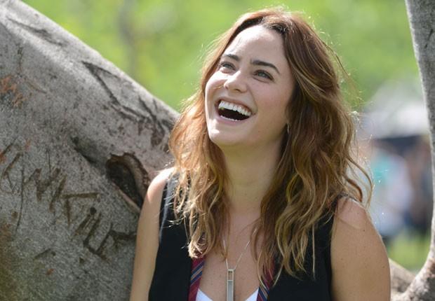 """Fernanda Vasconcelos se apaixonará pelo cunhado em """"Sangue Bom"""" (Divulgação/ TV Globo)"""