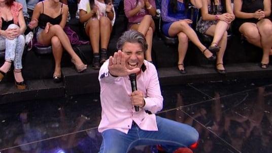 João Kléber, da RedeTV tem grave problema de saúde e é internado às pressas Foto: Reprodução