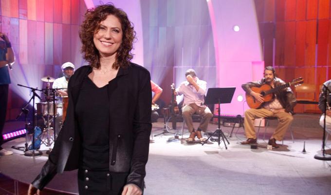 Patrícia Pilar estará no elenco da nova série (Foto :Reprodução/Globo)