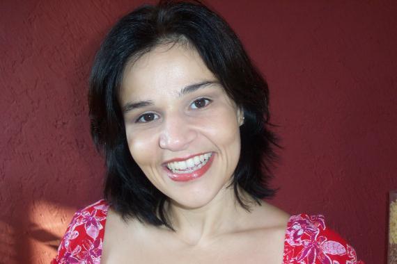 A atriz Cláudia Rodrigues está confiante com a cura (Foto: Divulgação)