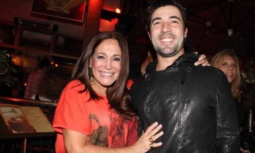 Sandro Pedroso na época que namorava Susana Vieira (Foto: Reprodução)