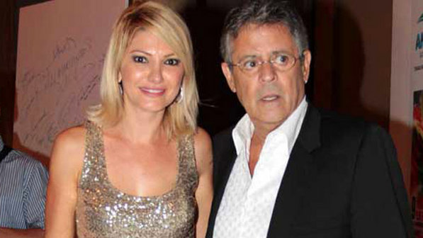 Antonia Fontenelle e Marcos Paulo. Foto: Reprodução