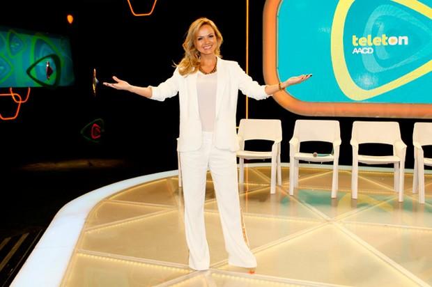Eliana é a madrinha do Teleton (Foto: Divulgação)