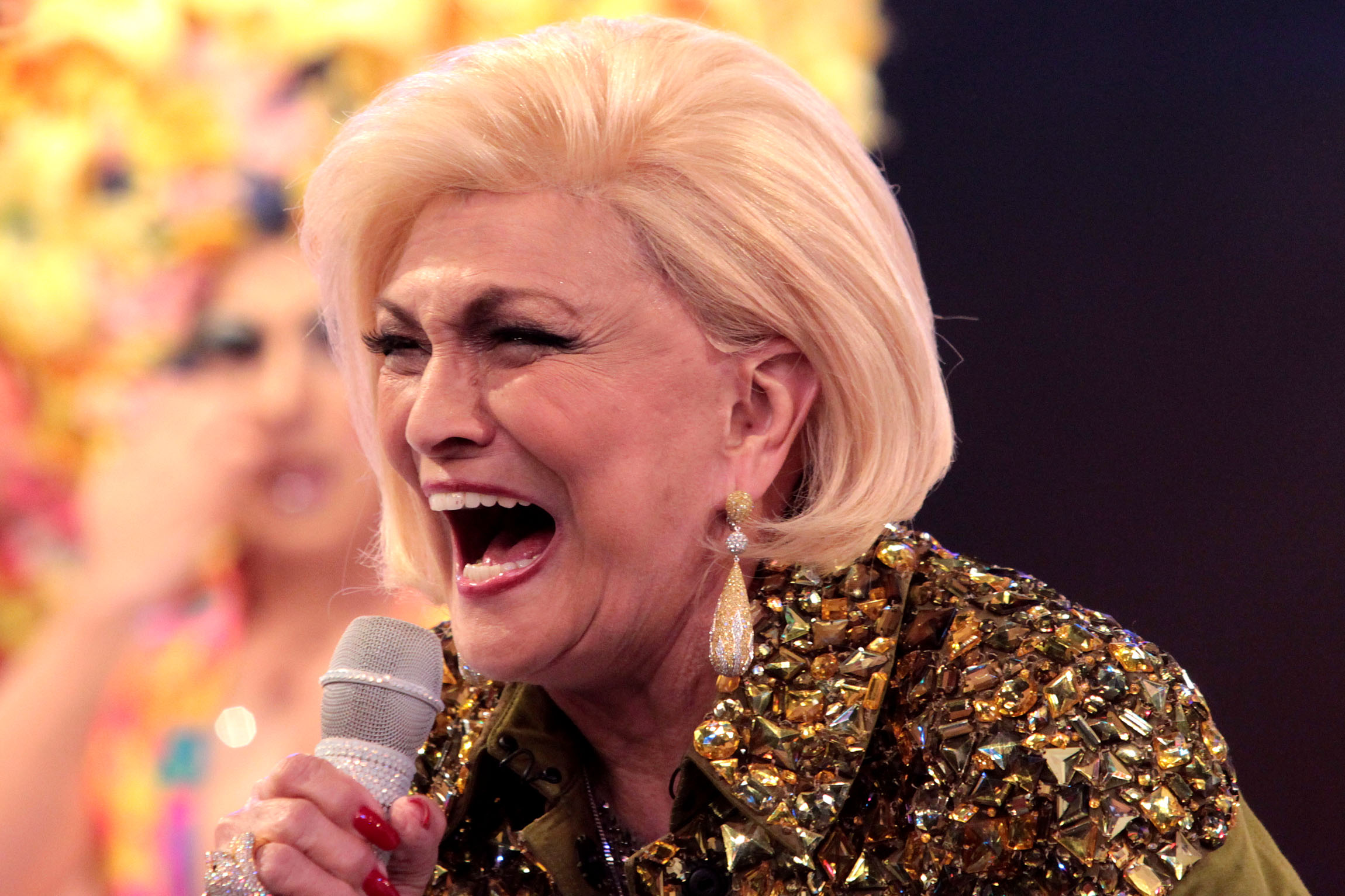 Hebe Camargo, a eterna Rainha da TV brasileira (Foto divulgação)