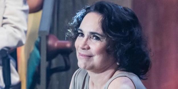Regina Duarte comenta sobre sua personagem na próxima novela