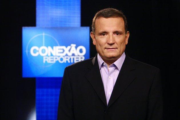 """Roberto Cabrini, no """"Conexão Repórter"""" (Foto: Divulgação/SBT)"""