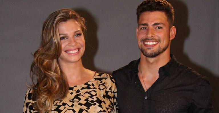 Grazi Massafera e Cauã Reymond na época que ainda eram casados (Foto: Divulgação)