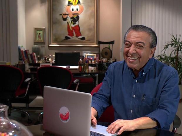 Maurício de Sousa é o criador da Turma da Mônica (Foto: Reprodução)