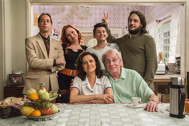 Elenco de A Grande Família (Foto: Globo/Paulo Belote)