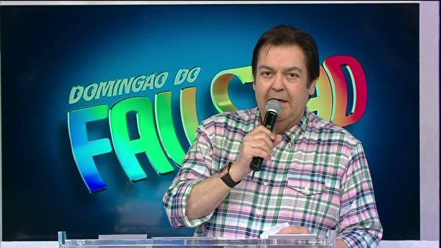 O apresentador está com medo (Foto: Reprodução/Globo)
