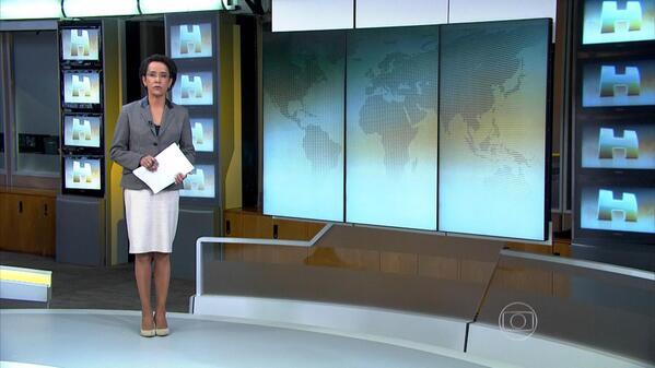 """Zileide Silva apresentou o """"Jornal Hoje"""" (Foto: Divulgação)"""
