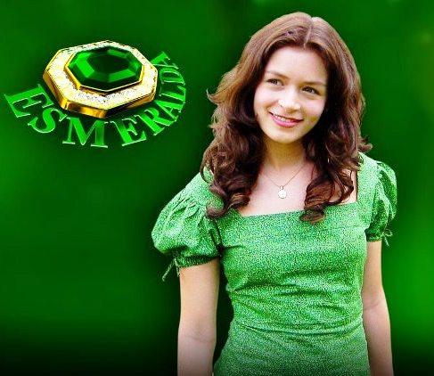Bianca Castanho, a eterna Esmeralda (Foto: Reprodução)