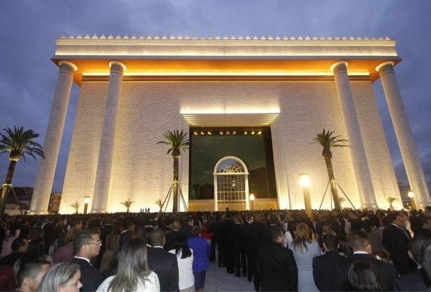 Templo de Salomão da Universal (Foto: Divulgação)