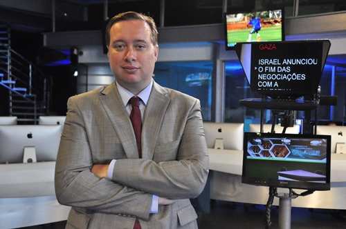 Franz Vacek: novo superintendente de jornalismo da RedeTV!