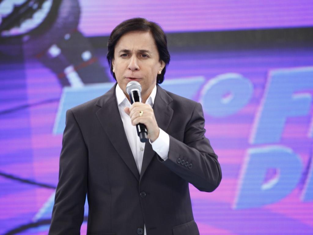 """Tom Cavalcante apresentava o """"Show do Tom"""" na Record (Foto: Divulgação)"""