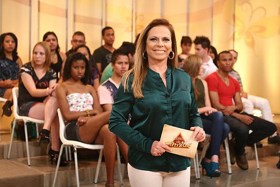 """Christina Rocha comanda o """"Casos de Família"""" (Foto: Divulgação/SBT)"""