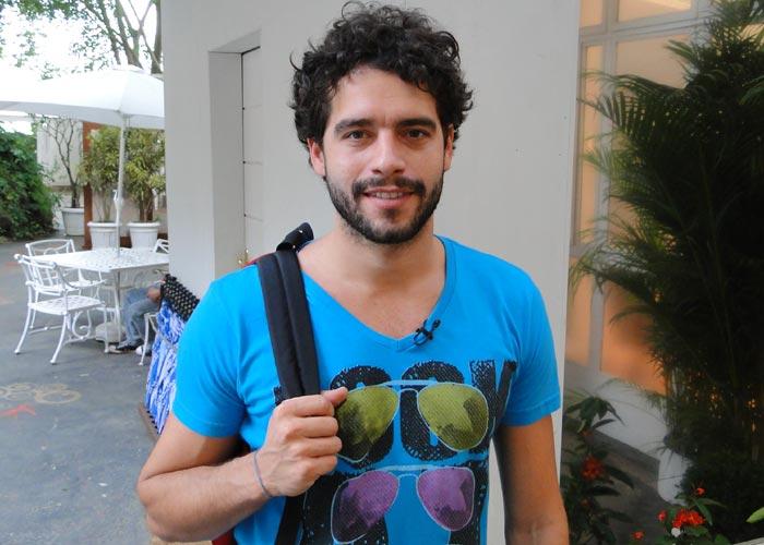 Guilherme Winter será Moisés na novela (Foto: Reprodução)