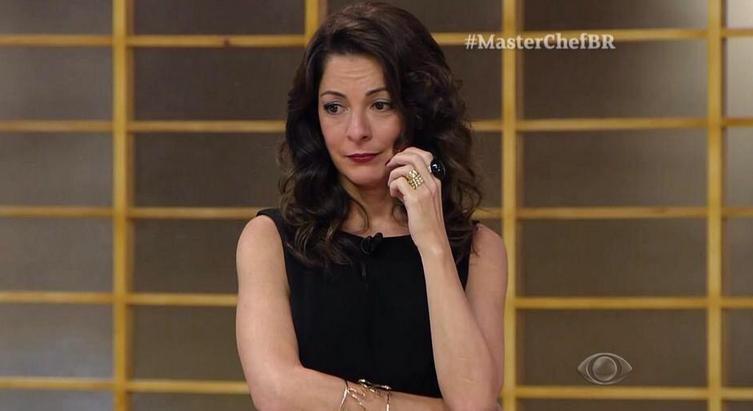"""Ana Paula Padrão que comanda o """"Masterchef"""" (Foto reprodução: Masterchef)"""