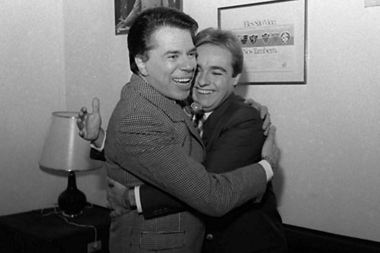 Gugu Liberato e Silvio Santos (Foto: Divulgação)