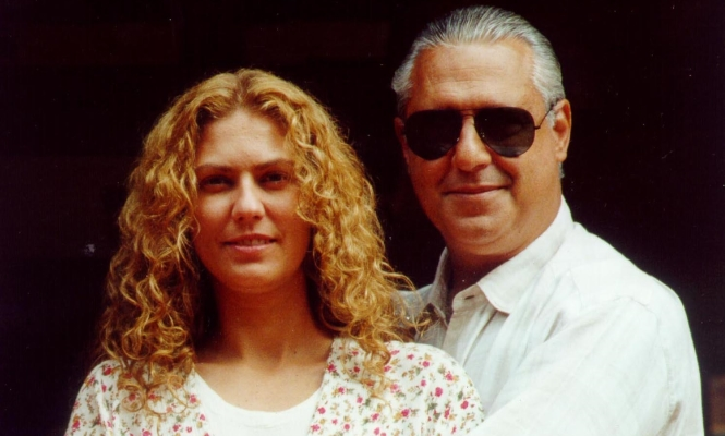 Bruno Mezenga (Antonio Fagundes) e Luana (Patricia Pillar (Foto: Globo / CEDOC)
