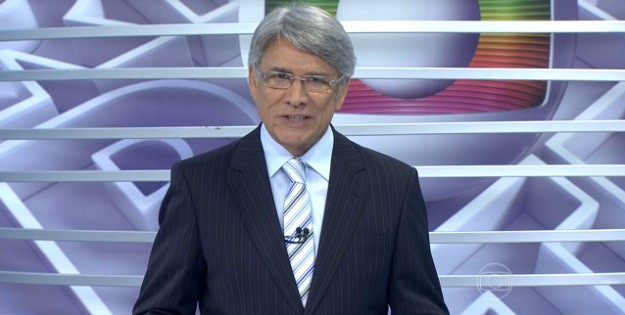 "Sergio Chapelin apresenta o ""Globo Repórter"" (Foto: Reprodução/Globo)"
