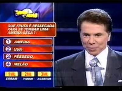 """""""Show do Milhão"""".Foto Reprodução."""