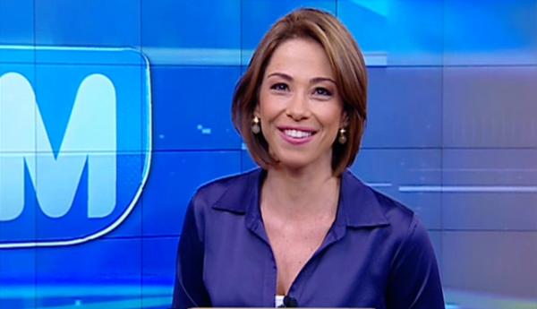 """Neila Medeiros comandava o """"Notícias da Manhã"""" (Foto: Divulgação)"""