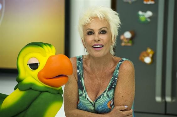 Ana Maria Braga e Louro José (Foto: Globo/Estevam Avellar)