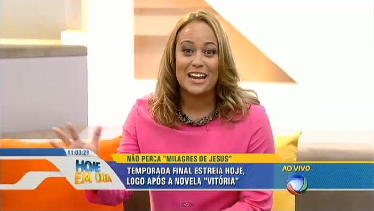 Apresentadora Renata Alves pode deixar o
