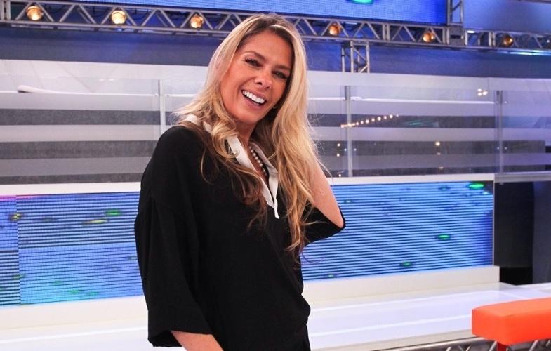 Adriane Galisteu (Foto: Reprodução/Record)