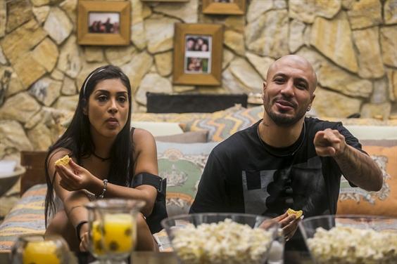 Fernando e Amanda (Foto: Globo/Paulo Belote)