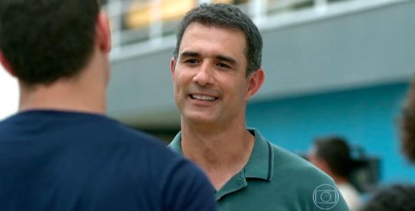 Marcos Pasquim interpreta Carlos Alberto na novela (Foto: Reprodução)