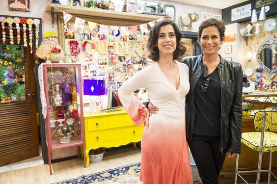 Fernanda Torres e Andrea Beltrão (Foto: Globo/João Miguel Júnior)