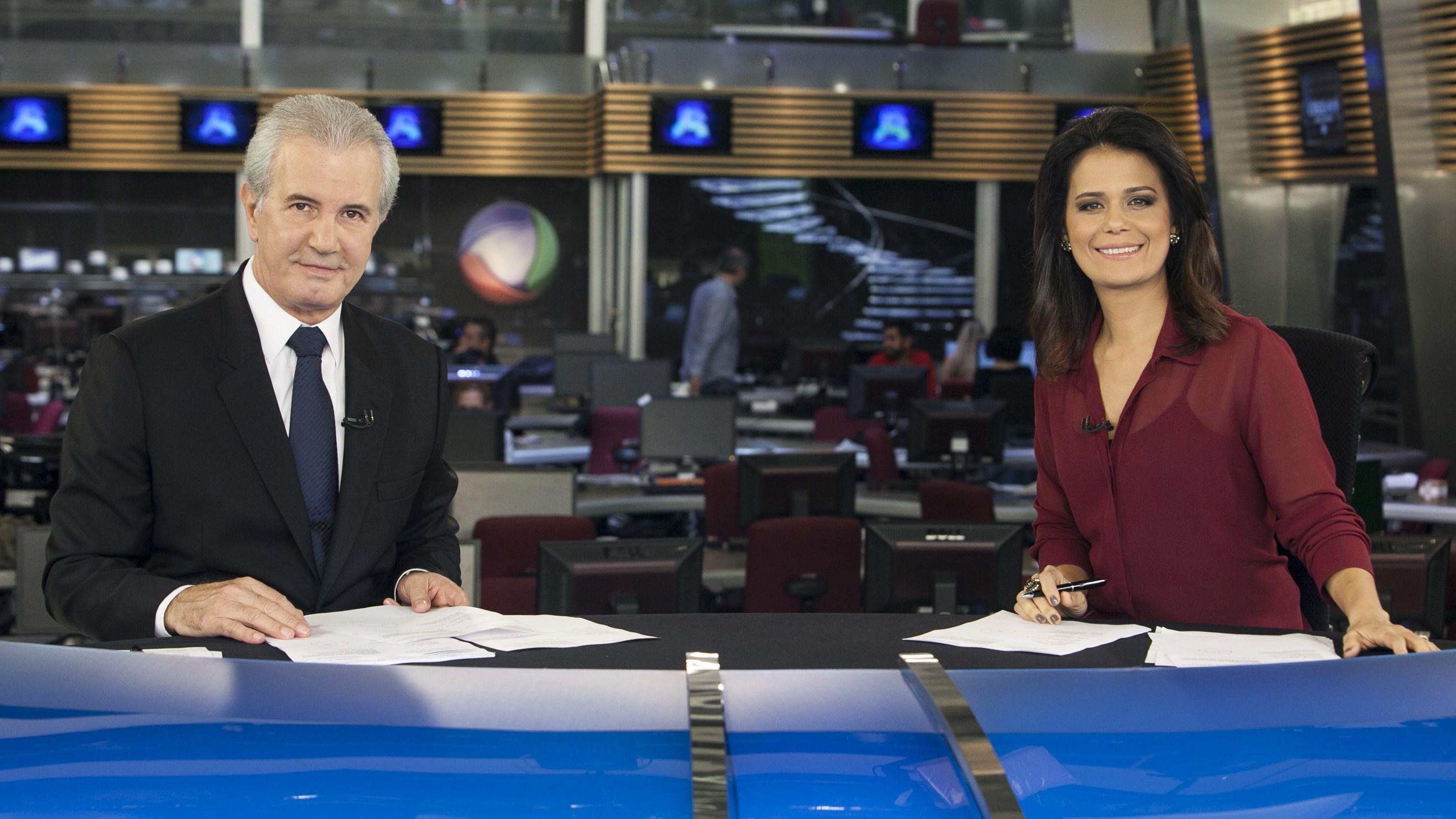 Celso Freitas e Adriana Araujo (Foto: Edu Moraes/Record)