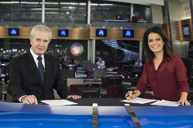 """O """"Jornal da Record"""" cresceu em audiência após a mudança de horário (Foto: Divulgação)"""