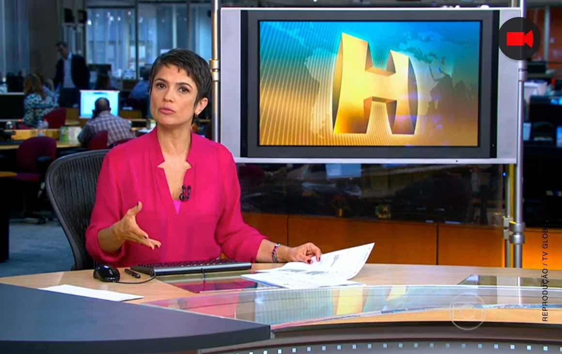 """Globo tira integrante da equipe do """"Jornal Nacional"""" pra colocá-lo ..."""