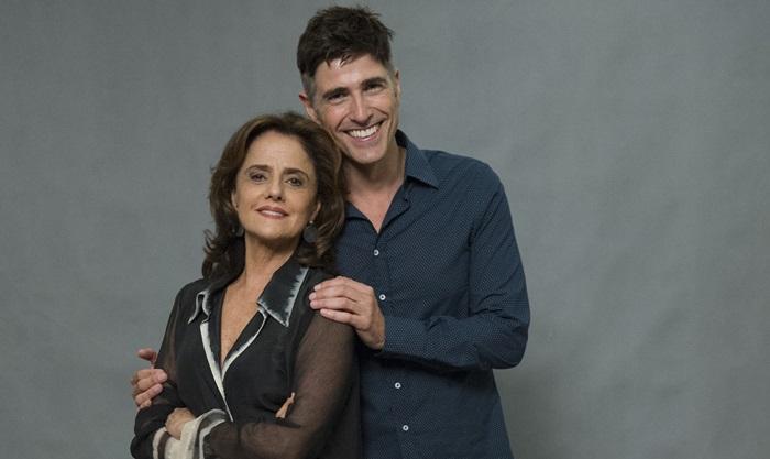 Marieta Severo e Reynaldo Gianecchini (Foto: Globo/Estevam Avellar)