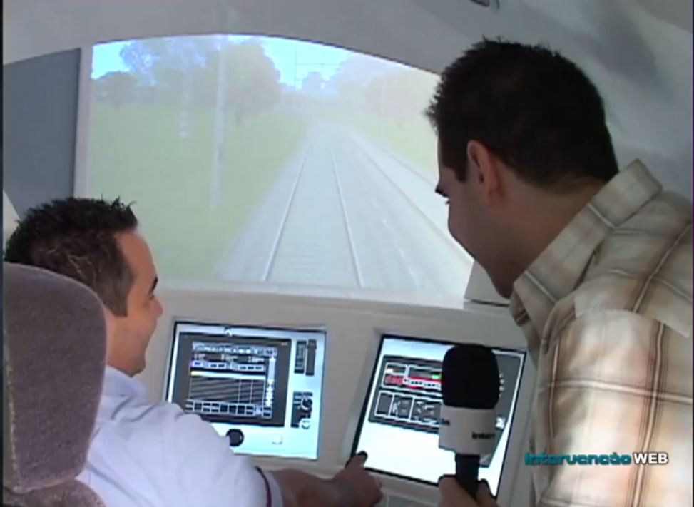 Roger foi saber tudo sobre trens na CPTM (Foto: Reprodução)