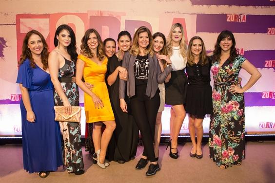 "Elenco feminino do ""Zorra"" (Foto: Globo/ Tata Barreto)"
