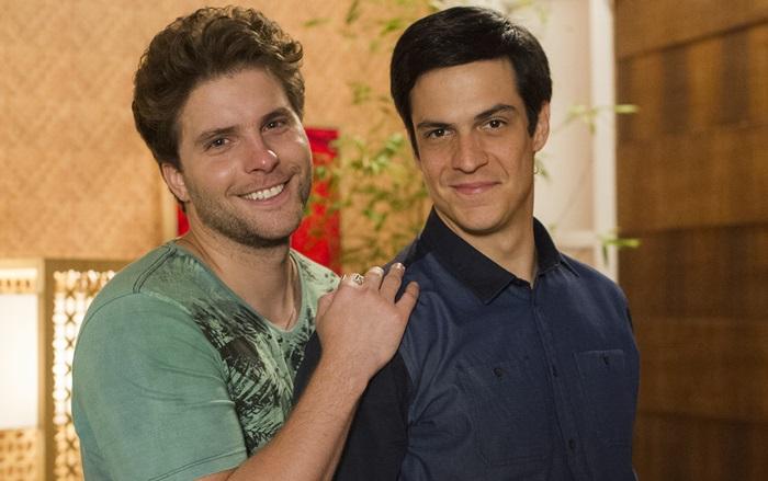 Félix (Mateus Solano) e Niko (Thiago Fragoso) (Foto: Globo/Estevam Avellar)