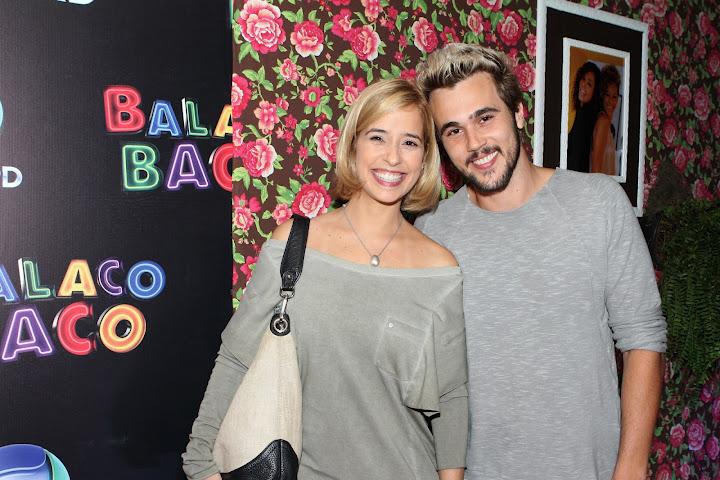 Paloma Duarte e Bruno Ferrari, quando estavam na Record (Foto: Divulgação)