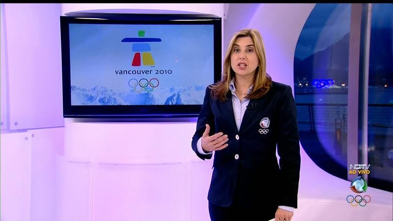 Mylena Ciribelli era a estrela do esporte da Record (Foto: Divulgação)