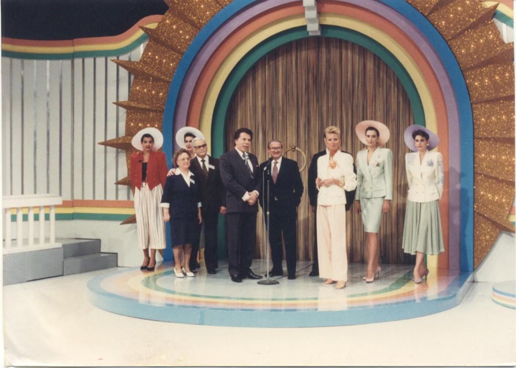 """Silvio Santos na """"Porta da Esperança"""", em 1984 (Foto: Divulgação/ SBT)"""