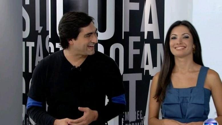 Zeca Camargo e Patrícia Poeta são dois dos apresentadores (Foto: Divulgação)