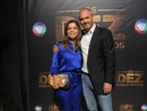 Autora e diretor-geral da novela (Foto: Divulgação)