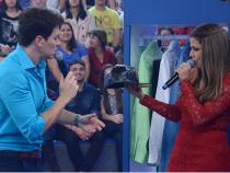 A atriz gravou uma participação no programa (Foto: Divulgação)