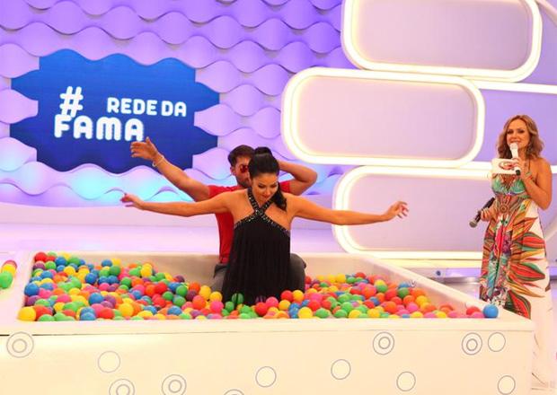 """Eliana agrada com nova versão da """"banheira"""" (Foto: Divulgação)"""