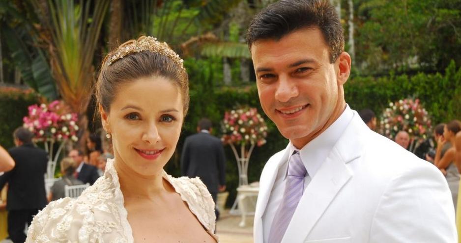 Bianca Rinaldi e Leonardo Viera são os protagonistas da novela (Foto: Divulgação)