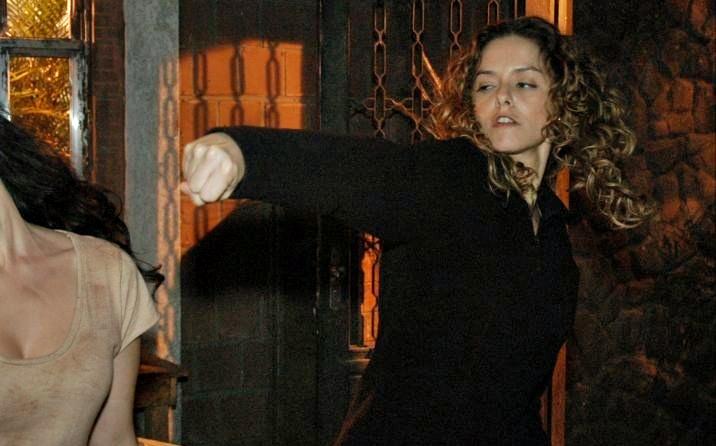 Bianca Rinaldi (Maria) em cena de Caminhos do Coração (Foto: Divulgação)
