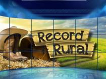 """Logo provisório do """"Record Rural"""" (Foto: Divulgação)"""